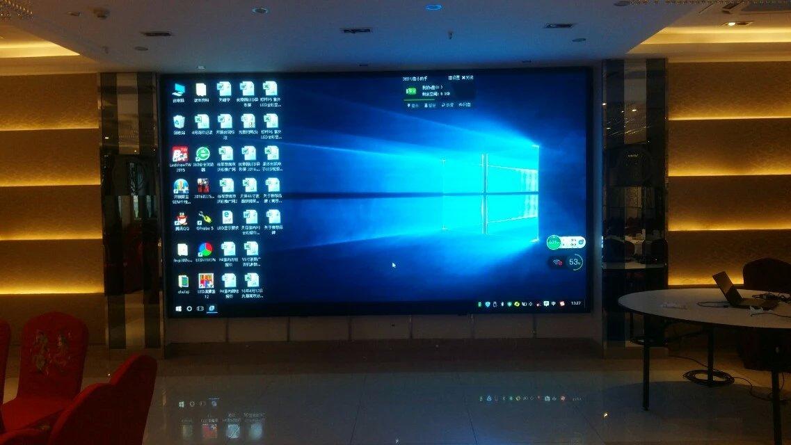 6米*4米的led室内显示屏,播放的图片做多大的分辨率才图片